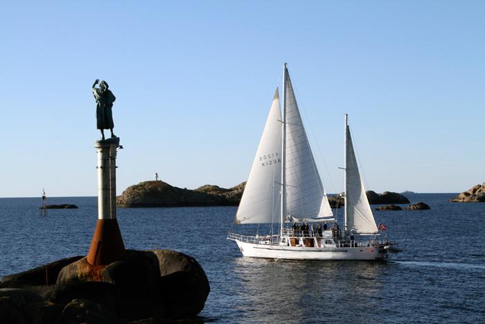 Yachten Ylajali i Svolvær